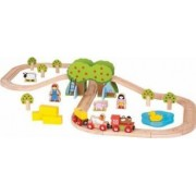Jucarie educativa Big Jigs Farm Train