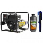 Generator curent AGT 7501 BSB SE 6.4 kVA motor 14 CP monofazat + Lanterna LED magnetica AgroPro + Ulei pentru motoare in 4T AgroPro