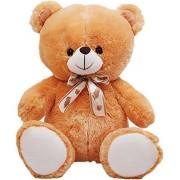 RT SOFT TOYS Life Size Stuffed Spongy Giant Teddy Bear (Brown, 2 Feet)