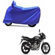 Intenzo Premium Full Blue Two Wheeler Cover for Bajaj Pulsar 150 DTSi