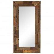 vidaXL peegel, tugev liipripuit, 50 x 110 cm