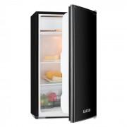 Alleinversorger, черен, хладилник, 90 l, клас A+, 2x 7l нива, камера