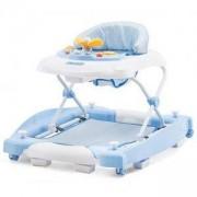 Бебешка проходилка с люлка - Хели, синя, Chipolinno, 350680