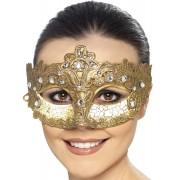 Gyllene Venetiansk Mask Colombina