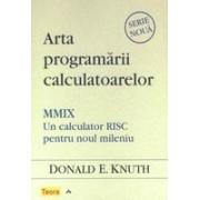 Arta programarii calculatoarelor. MMIX - Un calculator RISC pentru noul mileniu