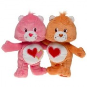 Care Bears Cuddle Pairs - Love-a-lot & Tenderheart Bear