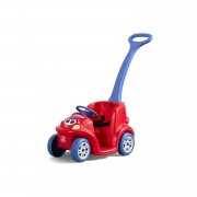 Step2 loopwagen Push Around Buddy 110 cm rood/paars