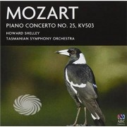 Video Delta Tasmanian Symphony Orchestra,Howard Shelley - Mozart Piano Concertos No. 25 - CD