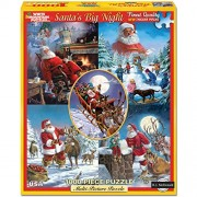 White Mountain Puzzles Santa's Big Night - 1000 Piece Jigsaw Puzzle