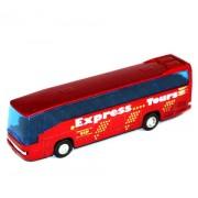 Autobus Welly 1:60 Mercedes Benz MB 0 303 RHD červený