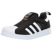 Adidas ORIGINALS Superstar 360 Zapatillas de Running para niño, Núcleo Negro/Blanco/Dorado Metálico, 19 MX Niño pequeño