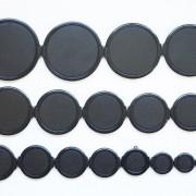 1 stuk 25mm universal lensdop voorlensdop lenscap