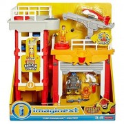 Fisher Price Imaginext Rescue Heroes Fire Command Center