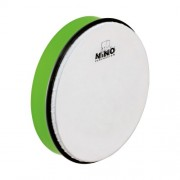 Nino Percussion NINO5GG 10-Inch ABS Plastic Hand Drum with Synthetic Head, Grass Green