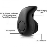 Mini Kaju Bluetooth Bluetooth Headset - Black for ALL MOBILE