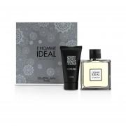 Guerlain L'Homme Ideal Coffret: Eau De Toilette Spray 100ml/3.3oz + Shower Gel 75ml/2.5oz 2pcs