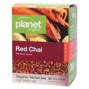 Organic Herbal Tea Bags - Red Chai x25