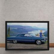 Quadro Decorativo Chevrolet Impala SS 1963 25x35