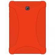 Amzer AMZ97957 Rugged Silicone Skin Jelly Case for Samsung Galaxy Tab S2 8.0 SM-T710, Orange