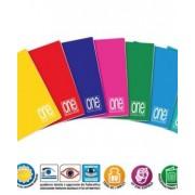 Тетрадка A4 UV One Color шита, 42 л.5x5, 80 г/м2