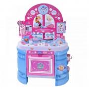 Set bucatarie pentru copii Frozen, 75 cm, 17 piese