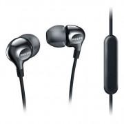 Slušalice Philips SHE3705BK/00, silikonske bubice sa mikrofonom, Crne