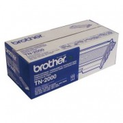0 Brother TN2000 BK svart Lasertoner, Original