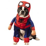 Rubie's Marvel Disfraz de Spider-Man para Mascotas, tamaño Grande