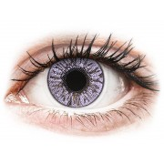 Violet contact lenses - FreshLook Colors - Power
