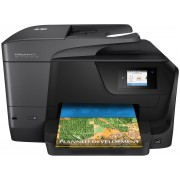 HP Officejet Pro 8710 All-in-One - Impressora multi-funções - a cores - jacto de tinta - Legal (216 x 356 mm) (original) - A4/L
