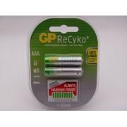 GP acumulatori Recyko HR03 AAA 850mAh Ni-Mh 1.2V always ready cod GP85AAAHCB-2UEC2