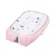 Salteluta-cuib pentru bebelusi - pink