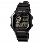 Casio Schwarze Retro-Uhr von Casio