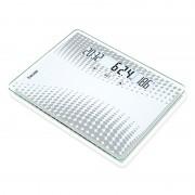 Cantar de sticla Beurer GS51XXL, 200 kg, LCD, afisaj temperatura