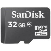 Card de memorie SanDisk microSDHC, 32GB, Clasa 4