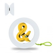 New Style YoYo Ball Banana Professional Responsive Yo-Yo Bearing Spinning Ball String Spin Toys-White