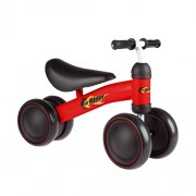 Lil Rider 80-Trmn-R Ride on Mini Trike with Easy Grip Handles, Enclosed Wheels and No Pedals for Learning to Walk for Baby, Toddlers, Boys and Girls, Red