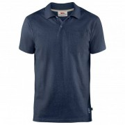 Fjällräven - Greenland Re-Cotton Polo Shirt - Poloshirt maat M blauw