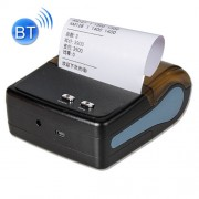 QS-8001 Portable 80mm Bluetooth POS Receipt Thermal Printer (Black)