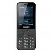 Maxcom MM139 mobiltelefon, dual sim-es kártyafüggetlen, bluetooth-os, fm rádiós fekete