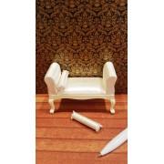 Bancheta De Luxe - GEORGE III-style - miniatura papusi