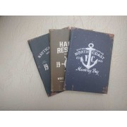 Notebook 24 file motive Navy North Coast