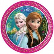Disney Frozen thema feestje borden 8 stuks