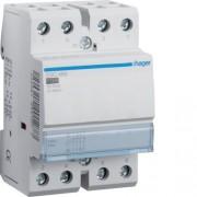 Moduláris kontaktor 63A, 3 Záró + 1 Nyitó érintkező, 230V AC 50 Hz (Hager ESC466)