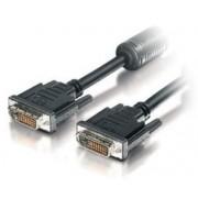 Cablu Equip 118937, DVI - DVI, 10 m (Negru)