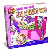 Small World Toys Fashion - Big Bright Bag Plush Purse