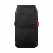 Funda Para Celular Con Clip Para Cinturon 5.5 Pulgadas KCOM Premium All - Negro