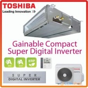 Duct Toshiba 12000 BTU inverter RAV-SM406BT-E + RAV-SP404ATE
