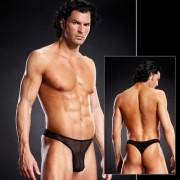 Blue Line Pro-Mesh Thong Underwear Black BLM010