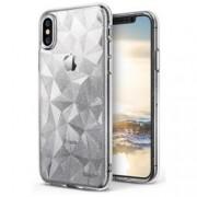Husa iPhone X, iPhone 10 Ringke Air Prism - Glitter Clear